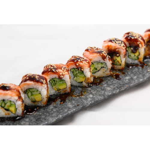 SHISAN ROLL SALMON TERIYAKI