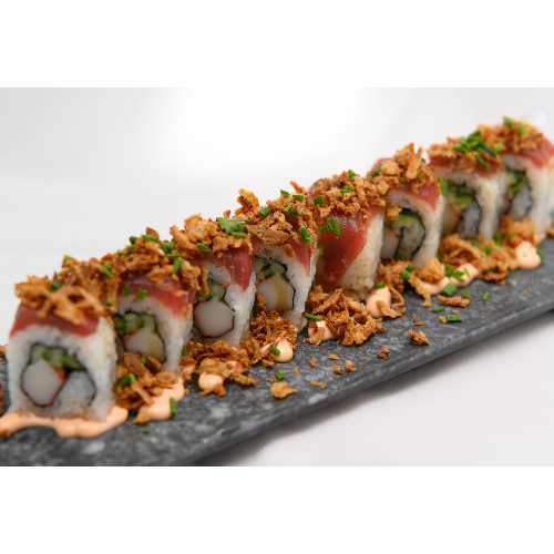 SHISAN ROLLS SPICY SALMON