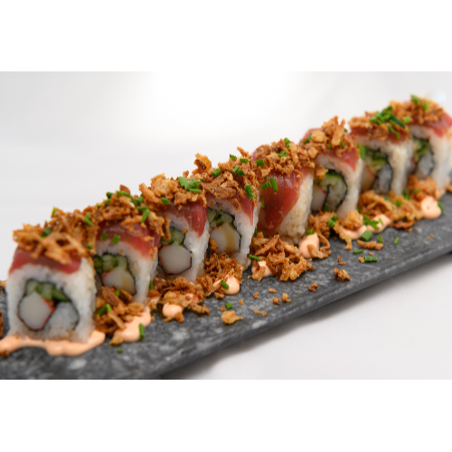 HALF ROLLS SPICY TUNA